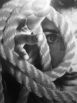 Lilly circular rope, 2011 Digital Archival Print