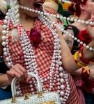 Pulling her beads, 2011 Digital Archival Print